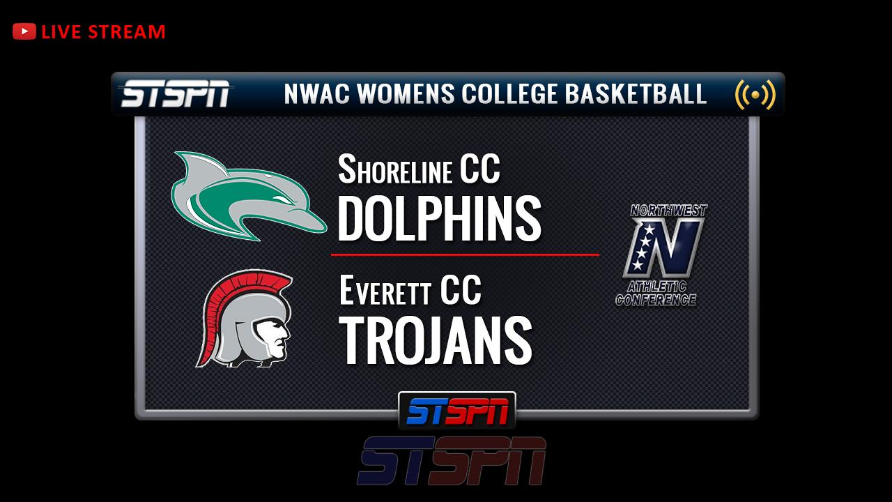 Everett CC at Shoreline CC Womens College Basketball