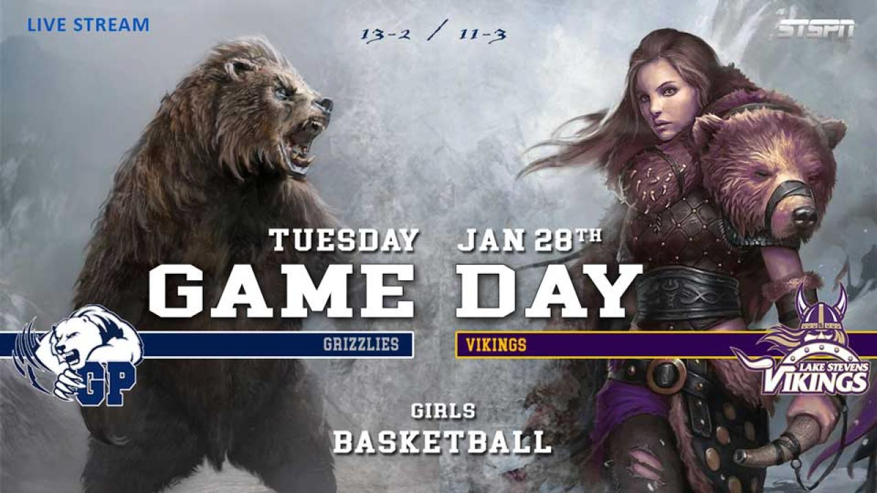 Vikings at Grizzlies Girls Basketball
