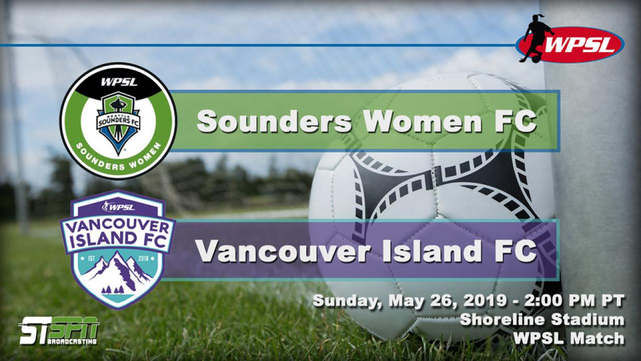 Sounders FC vs Vancouver Island FC
